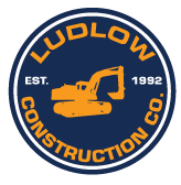 Ludlow Construction Co. Logo